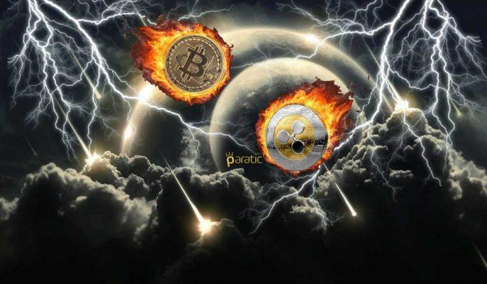 Bitcoin ve Ripple Rekor Düşüşlerle Baş Etmeye Çalışıyor