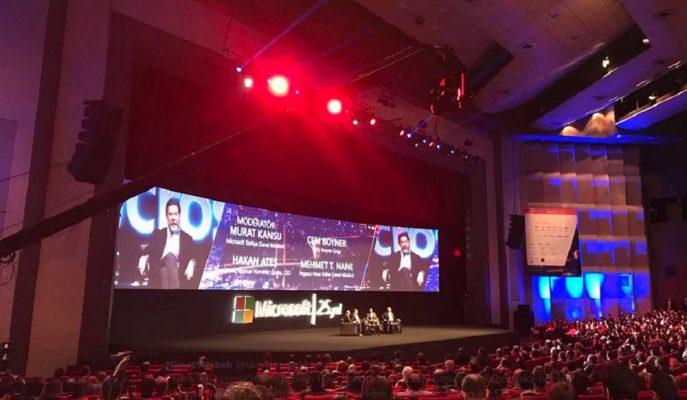Cem Boyner Microsoft Teknoloji Zirvesi'nde Hopi'yi Kişiselleştirmek için Yapay Zeka Kullanacaklarını Söyledi!