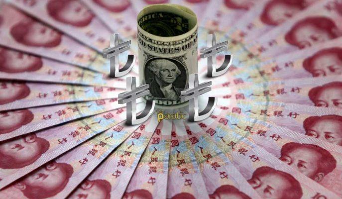 Dolar Çin Etkisiyle Yükseldi, Kur 3,81 Lirayı Gördü!