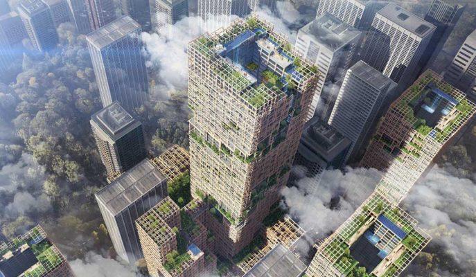 Dünyanın En Uzun Ahşap Gökdeleni 5.6 Milyar Dolara Tokyo'da İnşa Edilecek!