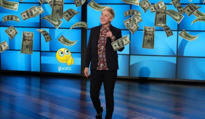 """Ellen DeGeneres'ten Stüdyodaki Seyircilerine """"1 Milyon Dolarlık"""" Jest!"""