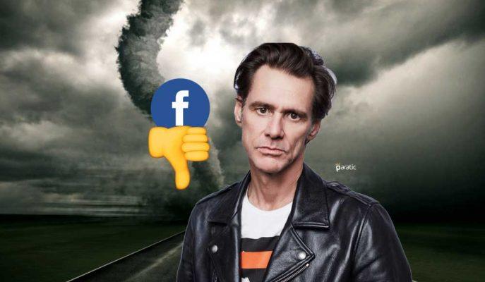 Facebook Hisselerini Satıp Hesabını Kapatan Jim Carrey'den Boykot Çağrısı!