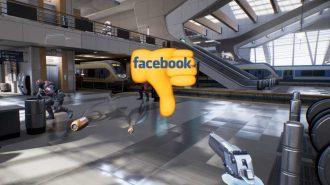 Facebook Şiddet İçerikli Sanal Gerçeklik Oyununu Olmayacak Bir Yerde Kullandı!