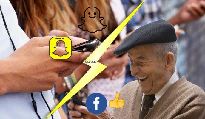 Facebook'ta Yaşlıların Sayısı Artarken, Gençler Artık Snapchat'te!