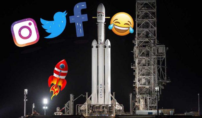 Falcon Heavy'nin Fırlatılmasıyla İlgili Sosyal Medyada Dönen Geyikler