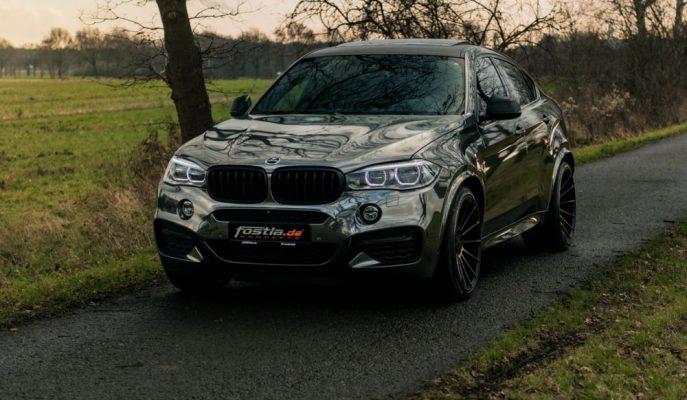 """Fostla Aynalı """"Hamann BMW X6″yı Ekstra Güçlerle Tekrar Ele Almış"""