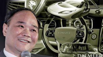 """Geely Patronu Li Shufu """"Daimler""""de Artık Söz Sahibi!"""