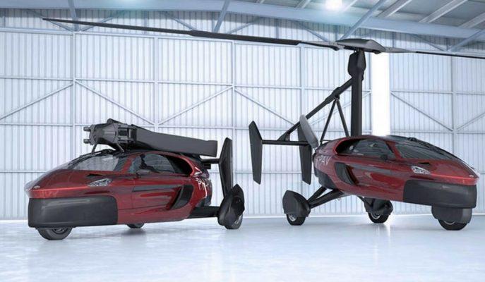Göklere Çıkacak İlk Seri Üretim Uçan Araba Cenevre Fuarı'nda!