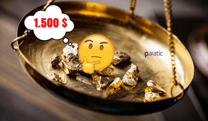 Goldman Sachs Ons Altının 1.500 Dolara Çıkacağını Düşünüyor!