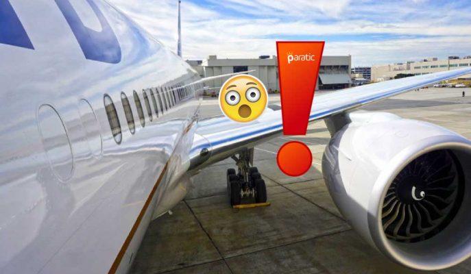 Havadayken Motoru Parçalanan United Airlines Uçağı Korku Dolu Anlar Yaşattı!