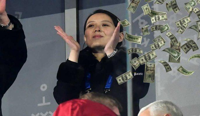 Güney Kore Kim Jong-Un'un Kız Kardeşi için 220 Bin Dolar Harcamış!