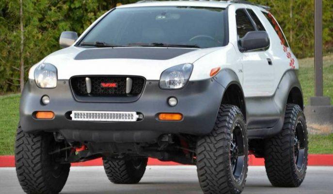Isuzu'nun 2001 Model Nadir Bulunan VehiCROSS Iron Man SUV Aracı Satılıyor!