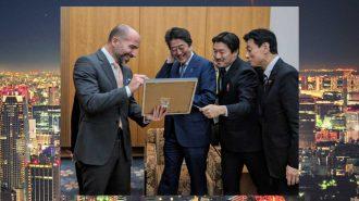 Japonya Taksi Pazarına Odaklanan Uber CEO'su Başbakan Şinzo Abe ile Görüştü!