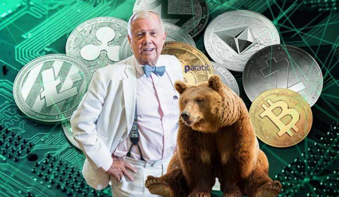 Jim Rogers Kripto Paralarda Kötü Bir Ayı Piyasası Bekliyor
