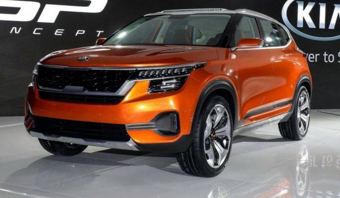 """Kia'nın Range Rover Velar Stilindeki """"SP Konsepti"""""""