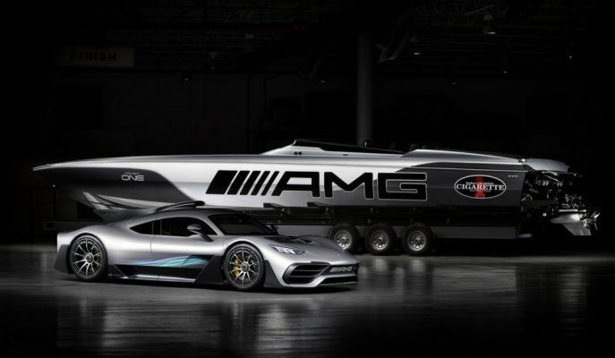 Mercedes – AMG Cigarette Racing 515 Project One Boat: 3100 Beygirlik Süper Spor Tekne!