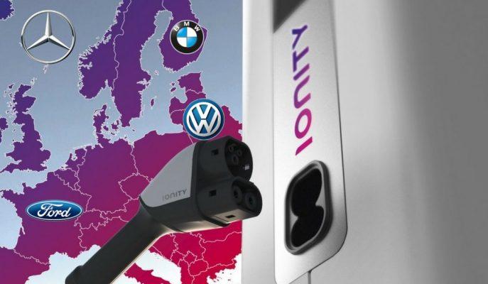 Mercedes – VW – Ford ve BMW'nin Ortak Şarj İstasyon Haritası Gösterildi!
