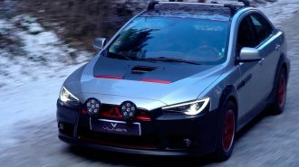 "Yeni Mitsubishi Lancer All Road Ronin AWD: ""Japon Sanatından Alınan İlham"""