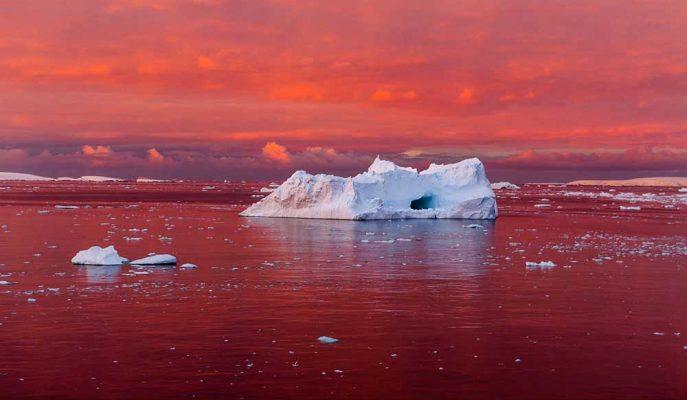 NASA'dan Korkutan Antartika Paylaşımı: Dünya Kırmızı Alarm Veriyor!