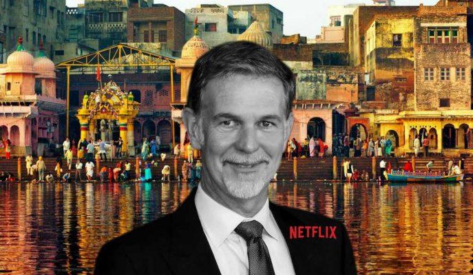 Netflix CEO'su Hindistan Pazarına Göz Dikti!