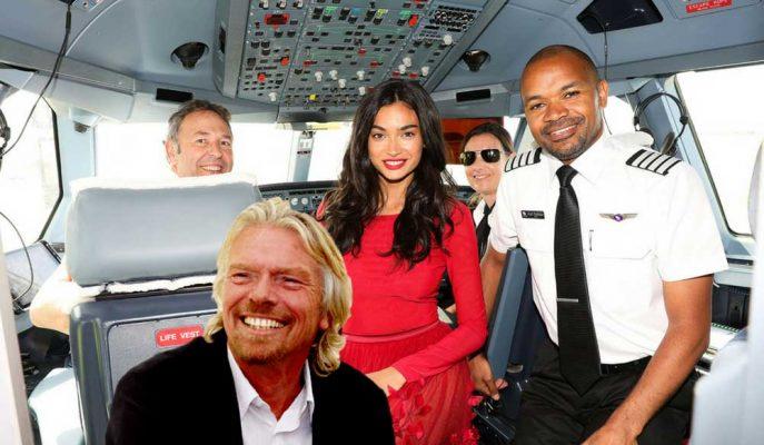 """Richard Branson: """"Gökyüzünde Yapılan İlk Defileyi Görmek Harika!"""""""