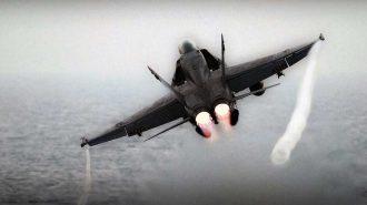 Savaş Jetlerinin Kulakları Sağır Edecek 7 Kalkış Anı