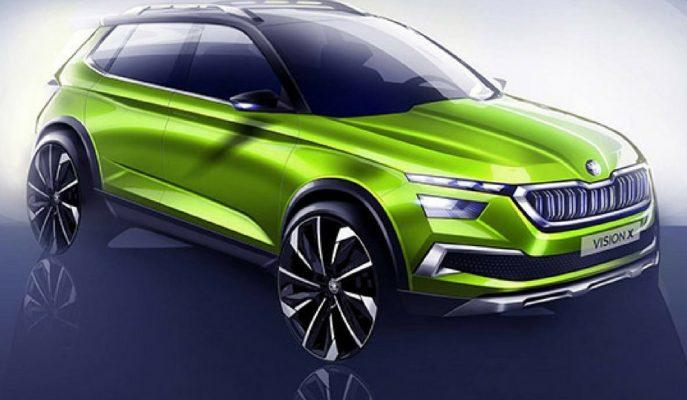 Skoda Mini SUV Sınıfında Vision X'i Gösterdi!