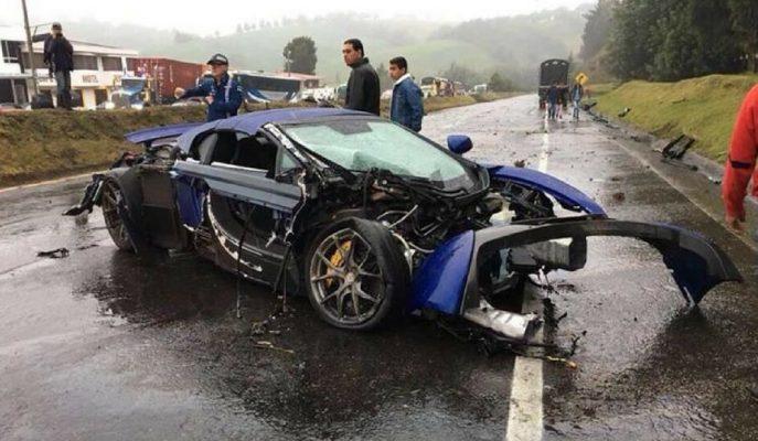 Süper Spor Arabaların Kolombiya'daki Otoyol Yarışı Kötü Bitti!
