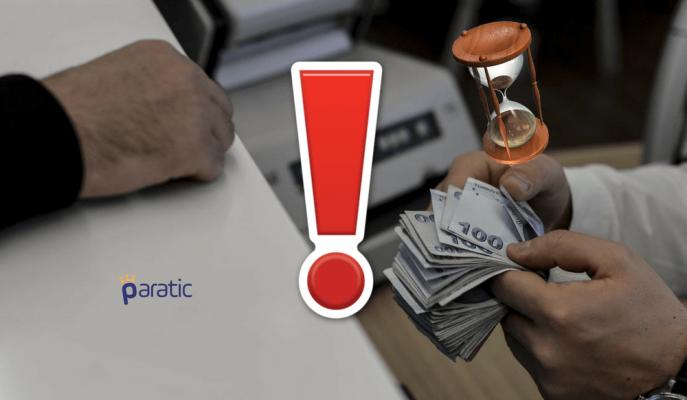 TMSF Bankada Parası Olanlara Zaman Aşımı Uyarısı Yaptı!