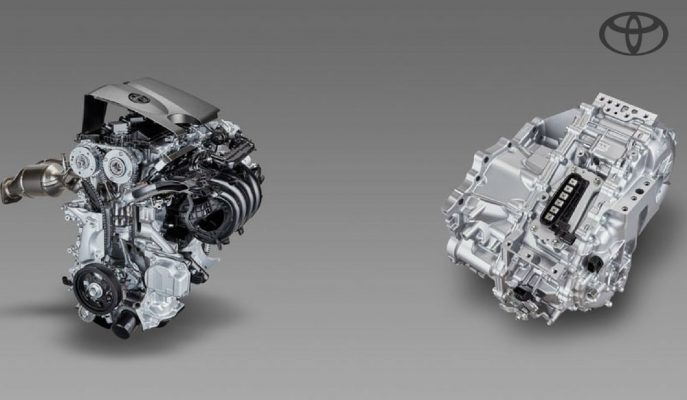 Toyota CVT Şanzıman Aktarımlı Yeni 2.0L Hibrit Motorunu Tanıttı!