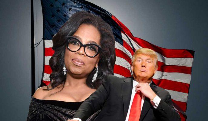 Trump Başkan Adayı Olması Beklenen Oprah Winfrey\'e Twitter\'dan Saldırdı!