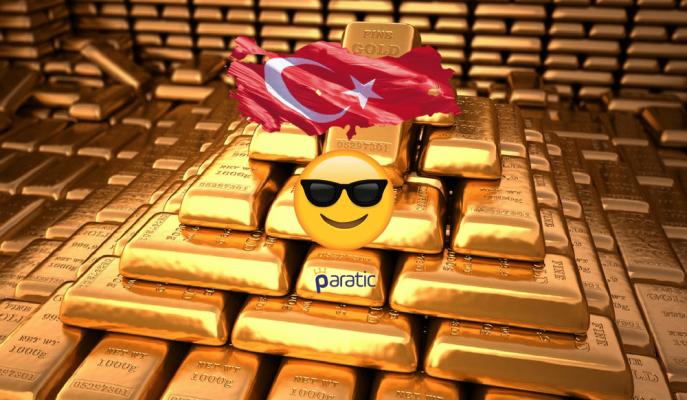 Türkiye Altın Rezervinde 11. Sıraya Yükseldi!