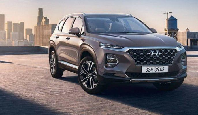 Yeni Kasa Hyundai Santa Fe'nin Resmi İlk Fotoğrafları!