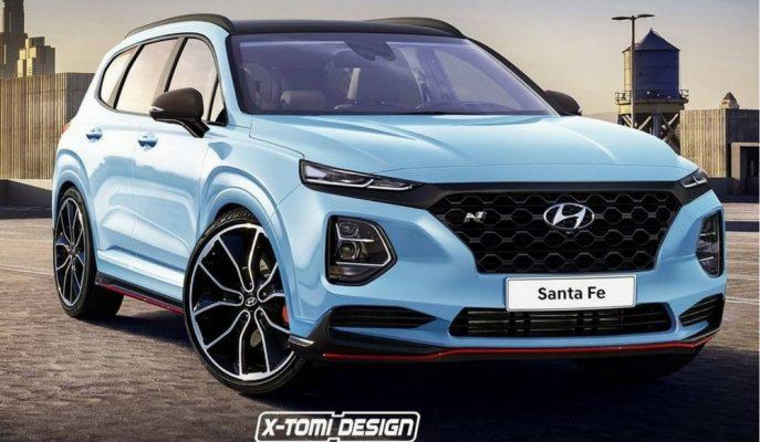 Yeni Yapısına Kavuşan Hyundai Sante Fe'ye N Performance Yorumu!
