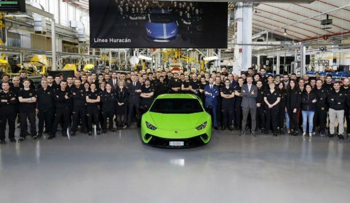 10 Bininci Lamborghini Huracan Bantlardan İndirildi!