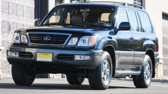 140 Bin Dolar Fiyatıyla Dünyanın En Temiz 2001 Model Lexus LX 470'i