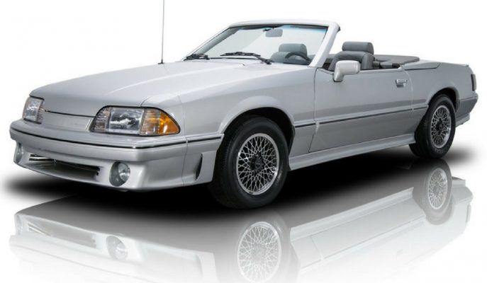 1988 Ford Mustang ASC/McLaren: Dünyada Kalan En Temiz Örneği Satışta!