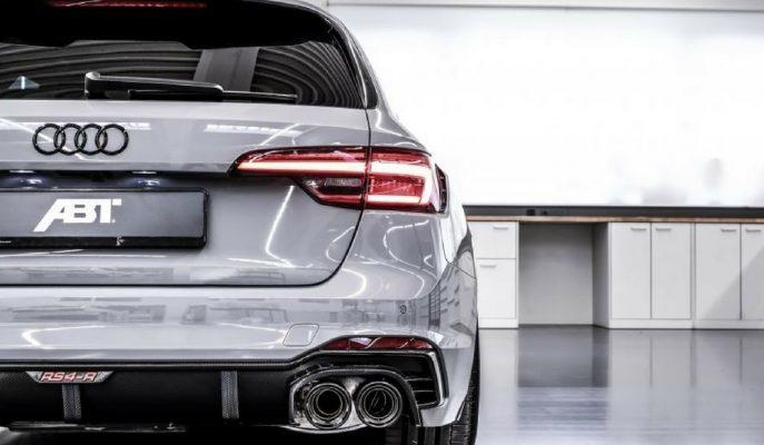 2018 Audi RS4 Avant da ABT'den Kaçamadı!