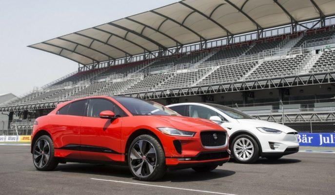 """2018 Yeni Jaguar I-Pace EV SUV: """"Tesla Model X'in İlk Gerçek Rakibi"""""""