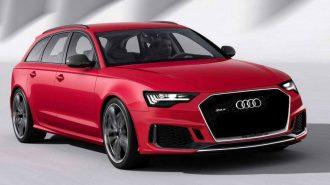 2019 Audi RS6'ya Beklenenden Daha Fazla Güçler Verilebilir!