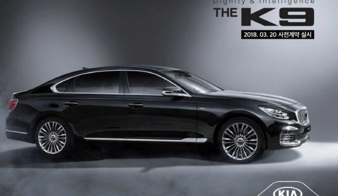 2019 Kia K900'ün Motor ve Bazı Özelliklerini Gösteren Broşürü Gösterildi!