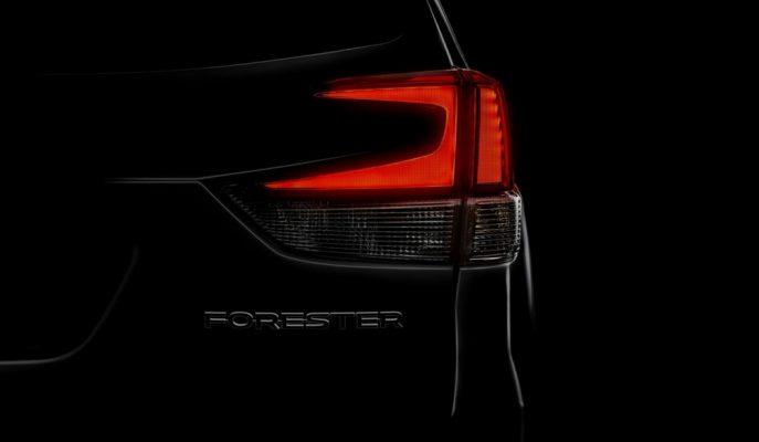 2019 Yeni Nesil Subaru Forester'a Dair İlk Görsel Geldi!
