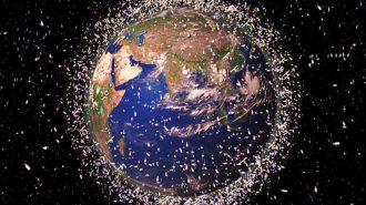Airbus Uzay'da Bulunan Atıkları Toplamak için Zıpkın Teknolojisi Geliştirdi!