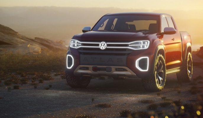 Atlas SUV ile Ortalığı Sallayan VW Şimdi de Tanoak Pick-up'la Geliyor!