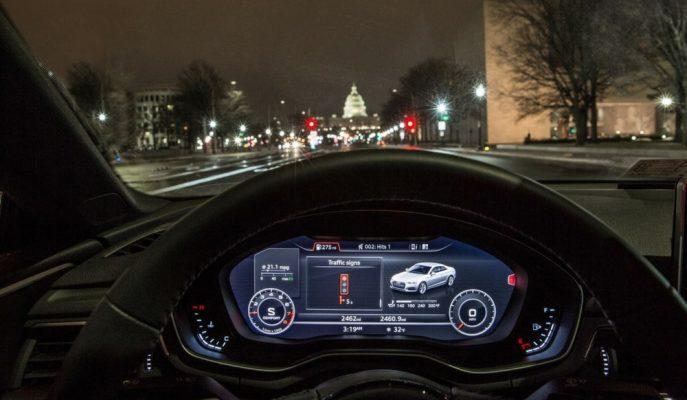 """Audi """"Akıllı Şehir"""" Teknolojisi V2I Sistemini Bir Üst Kademeye Geçiriyor!"""