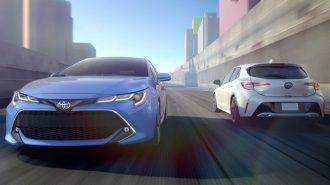 Auris'in Amerika Yüzü Corolla Hatchback iM'ın Detayları Gösterildi.