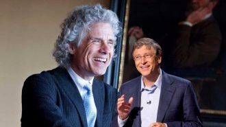 """Bill Gates'in Yeni Favorisi Steven Pinker Kitabına Göre """"Tarihteki En İyi Çağda Yaşıyoruz"""""""