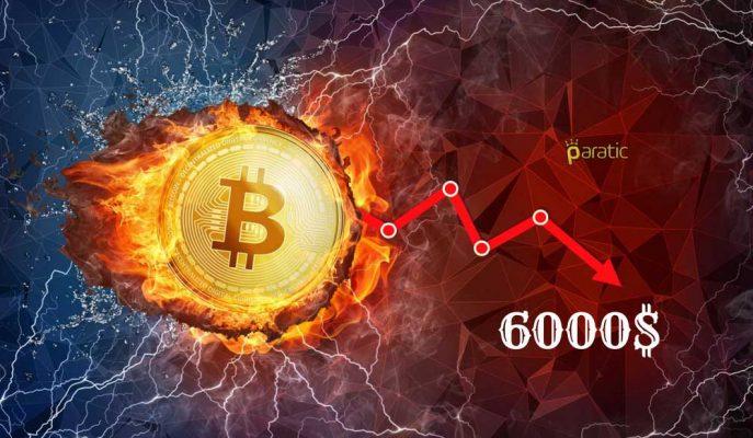 Bitcoin Fiyatı 6 Bin Dolara mı, Düzeltmeye mi İşaret Ediyor?