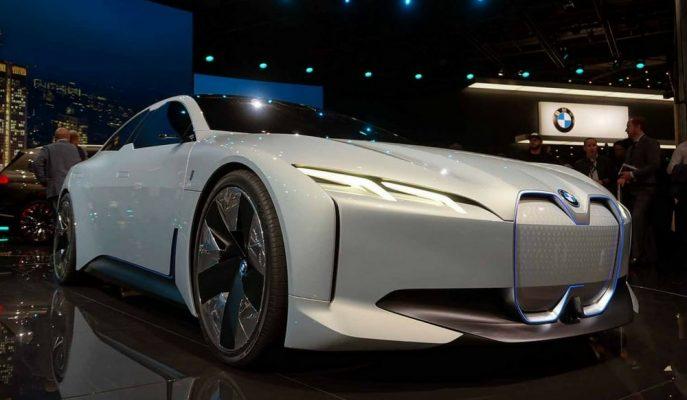 """BMW'nin Son Konsepti """"i4"""" Olarak Üretime Giriyor!"""