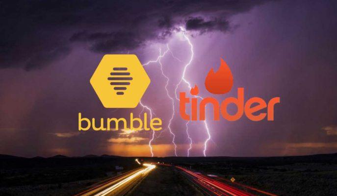 Bumble Tinder'ı Çekirdek Özelliğini Kopyalamakla Suçluyor!